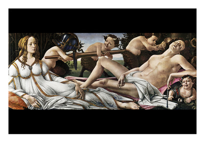 Venus and Mars Posters by Sandro Botticelli