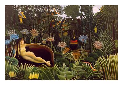 The Dream Posters af Henri Rousseau