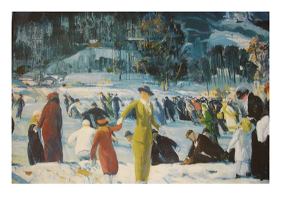 Love of Winter Posters by George Bellows