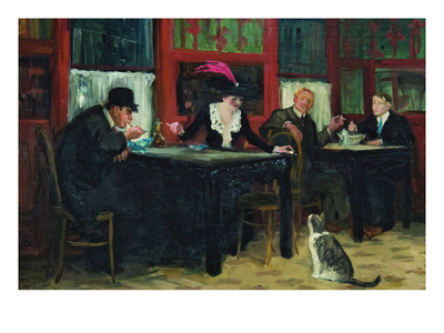 Chinese Restaurant Posters by John Sloan