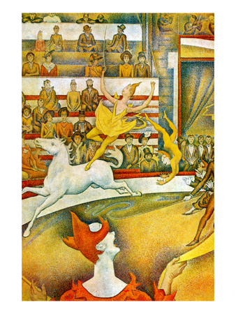 The Circus Poster by Georges Seurat