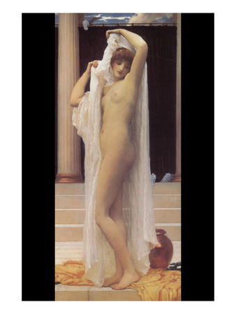 Bath of Psyche Posters by Frederick Leighton