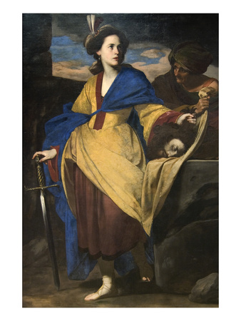 Judith with the Head of Holofernes Poster by Massimo Stanzione