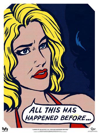 Battlestar Galactica - Ladies of Galactica: Pop Art Six Posters