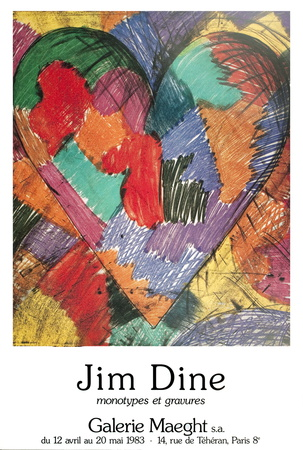 Heart Collectable Print by Jim Dine