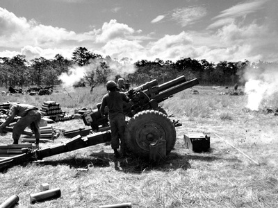 Vietnam War U.S. Photographic Print by  Associated Press