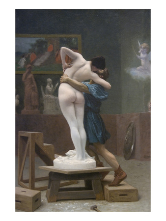 Pygmalion and Galatea Posters by Jean Leon Gerome