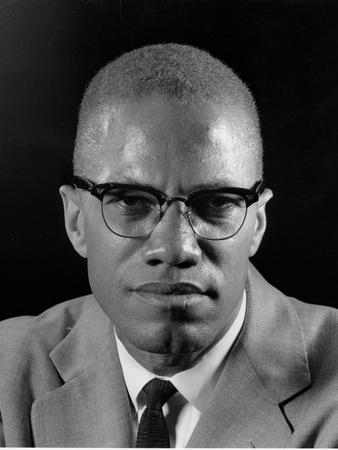 Malcolm X Photographic Print by Eddie Adams