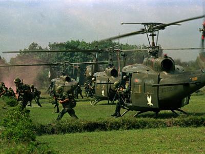 Vietnam War U.S. Paratroopers Photographic Print by  Associated Press