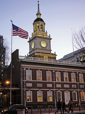 Independence Hall Photographic Print by Matt Rourke