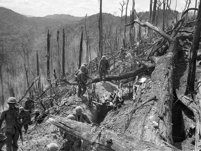 Vietnam War US Dak To Photographic Print by  Associated Press