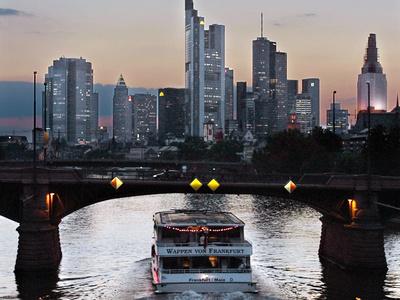 Travel Trip Frankfurt on a Budget Photographic Print by Frank Rumpenhorst