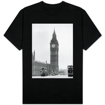 Big Ben and Westminister Bridge circa 1930 T-Shirt