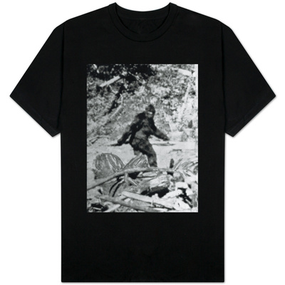 Alleged Photo of Bigfoot Shirts