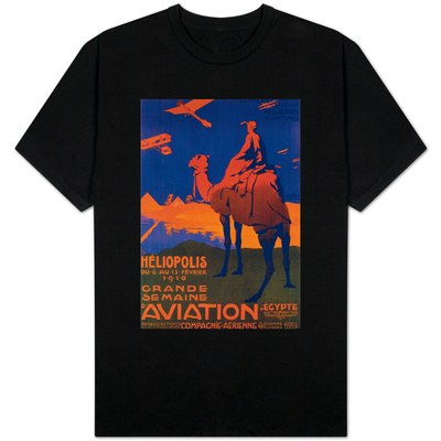 Cairo, Egypt - French Airline Promotional Poster T-shirts