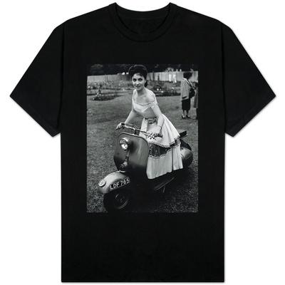 Gina Lollobrigida Actress on a Scooter T-shirts