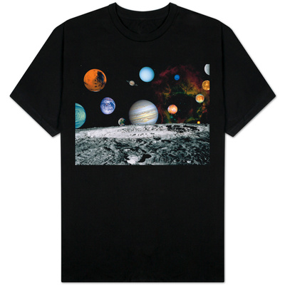 Planets of the Solar System T-shirts