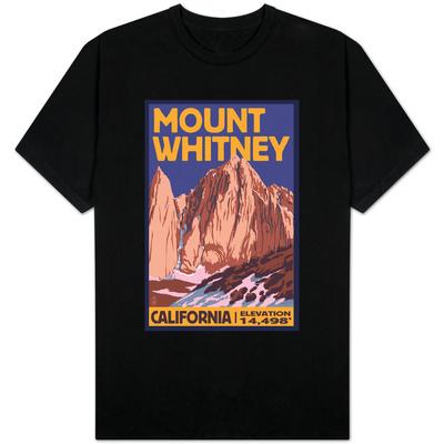 Mt. Whitney, California Peak Shirts