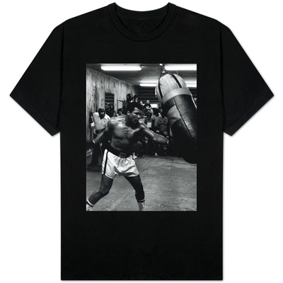 Muhammed Ali Boxer Training For the Fight with Leon Spinks T-shirts