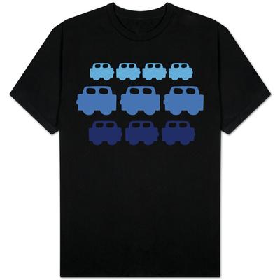 Blue Cars T-Shirts