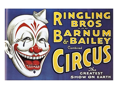 Barnum and Bailey's Circus, USA Giclee Print