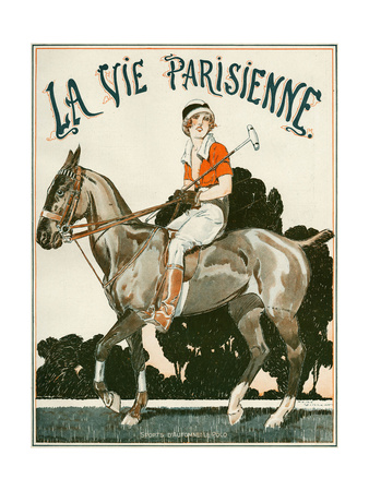 La Vie Parisienne, Rene Vincent, 1919, France Giclee Print