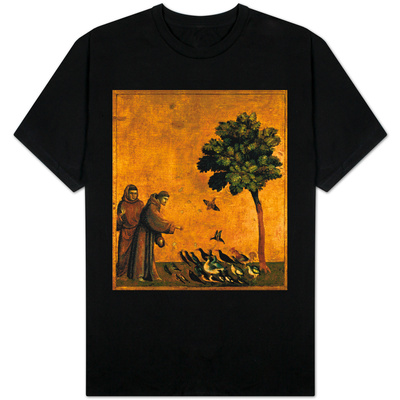 St. Francis of Assisi Preaching to the Birds Shirts