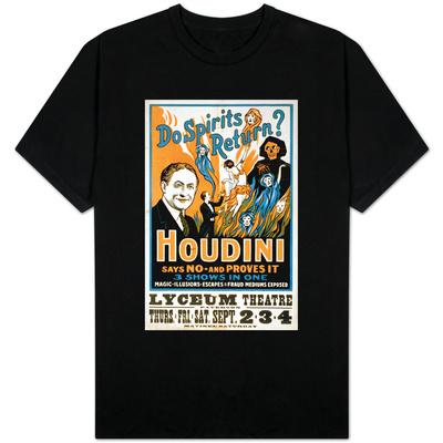 Do Spirits Return Houdini Says No T-shirts