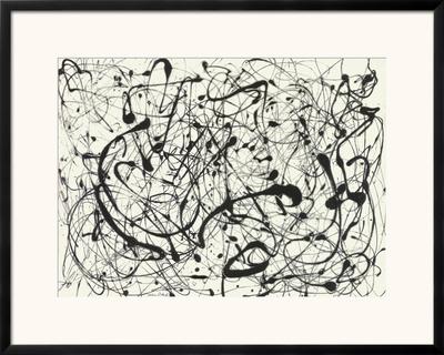 No. 14 (Gray) Poster by Jackson Pollock