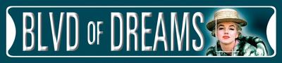 Marilyn Blvd. of Dreams Tin Sign