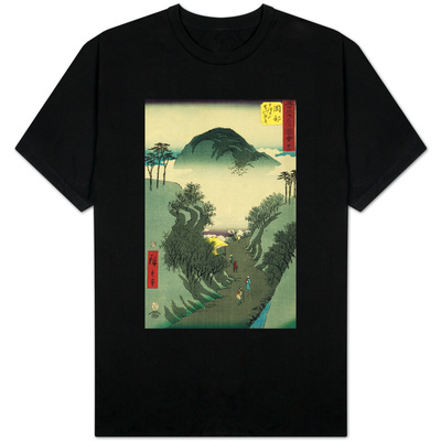 Okabe, from the Fifty-Three Station of the Tokaido Road T-shirts