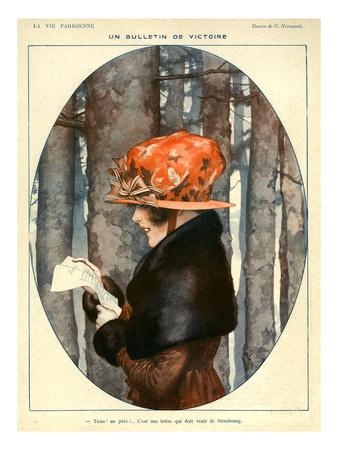 La Vie Parisienne, C Herouard, 1918, France Giclee Print