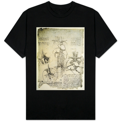 The Heart and the Circulation, Facsimile of the Windsor Book T-shirts