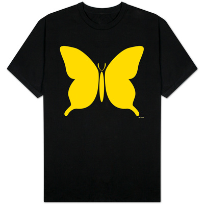 Large Yellow Butterfly Shirts!
