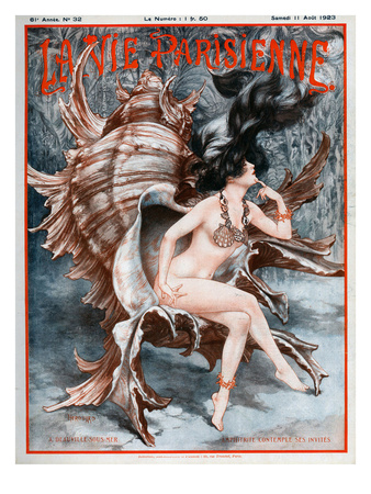 La vie Parisienne, Cheri Herouard, 1923, France Giclee Print