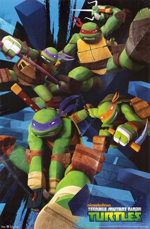 Teenage Mutant Ninja Turtles - Attack Prints