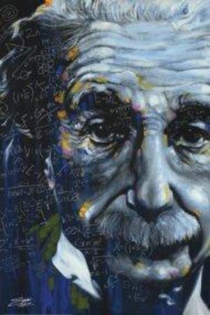 Stephen Fishwick- It's All Relative - Einstein Photo by Stephen Fishwick
