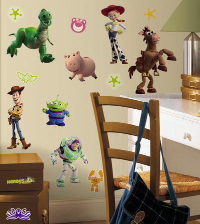 Toy Story 3 Peel & Stick Wall Decals Väggdekal