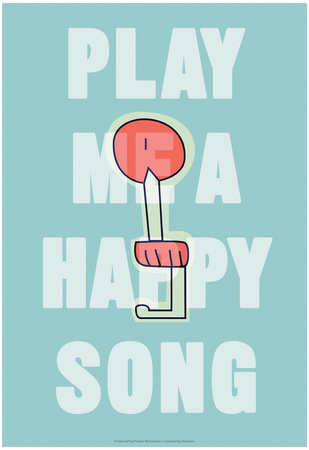 Annimo Play Me A Happy Song Posters