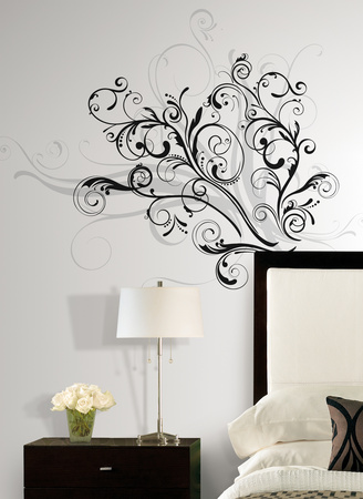 Forever Twined Peel & Stick Giant Wall Decal Wall Decal