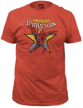 Spiderman - Star (Slim Fit) T-Shirt