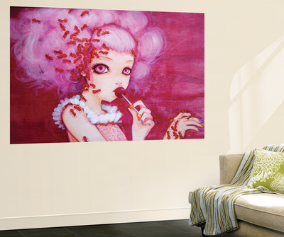 Cotton Candy Curly Cue Posters by Camilla D'Errico