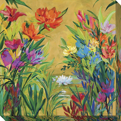 Spring Garden 2 Stretched Canvas Print