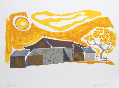 Sunlight Barn Collectable Print by Roy Doremus