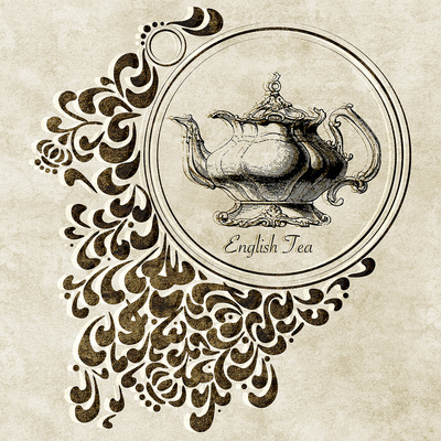 Englischer Tee Kunst