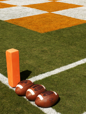 University of Tennessee - UT Football and Endzone Photo
