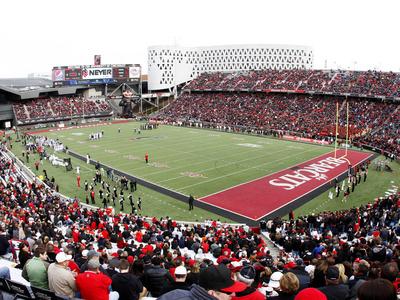 University of Cincinnati - Cincinnati Bearcat Football at Nippert Stadium Foto