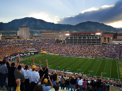 University of Colorado - Game Day at Folsom Field Foto af Tim Benko