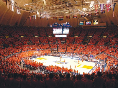 University of Illinois - Sea of Orange at Assembly Hall Photo