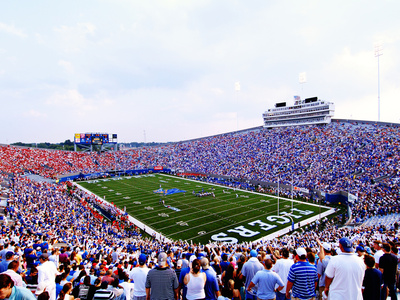 University of Memphis - Fans Fill Liberty Bowl Memorial Stadium Photo by Joe Murphy